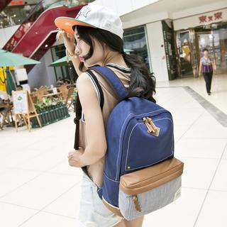 Backpack   Canvas   Block