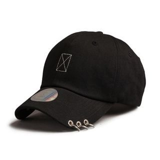 Ring-Accent Baseball Cap 1061674711