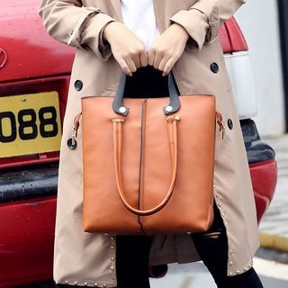 Faux-Leather Tote 1064076448