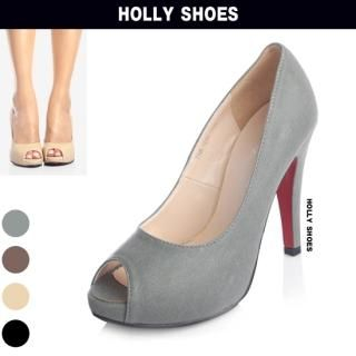 Picture of Holly Shoes Open-Toe Platform Pumps 1023048491 (Pump Shoes, Holly Shoes Shoes, Korea Shoes, Womens Shoes, Womens Pump Shoes)