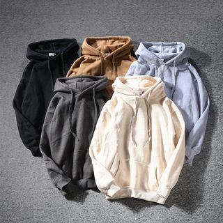 Image of Fleece-Lined Hooded Sweatshirt