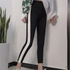 Cropped Two-Tone Sweatpants 1596