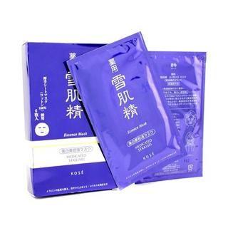 Kose - Medicated Sekkisei Essence Mask 6 sheets