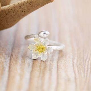 sterling-silver-flower-ring