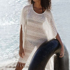 Lace Fringed Cover-Up 1596