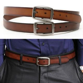 Picture of SLOWBABA Frame Buckled Belt 1021570182 (SLOWBABA, Mens Belts, Korea)