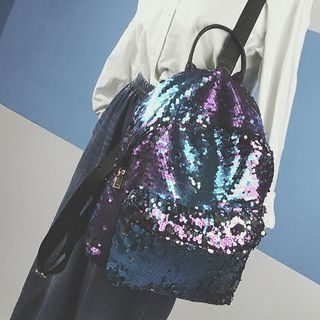 Sequined Backpack 1060083363