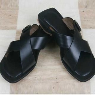 Picture of ROSEMAN Genuine Leather Sandals 1022981576 (Sandals, ROSEMAN Shoes, Korea Shoes, Mens Shoes, Mens Sandals)