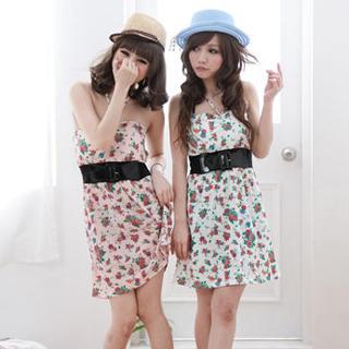 Buy ZOO Sleeveless Sweetheart-Neckline Panel Dress 1022980091