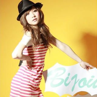 Picture of ZOO Strapless Bow-Back Striped Dress 1022763384 (ZOO Dresses, Womens Dresses, Taiwan Dresses)