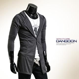 Picture of DANGOON Hooded Long Cardigan 1022871142 (DANGOON, Mens Knits, Korea)