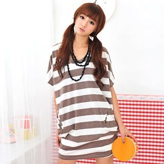 Buy 59 Seconds Oversized Striped Top 1022794110
