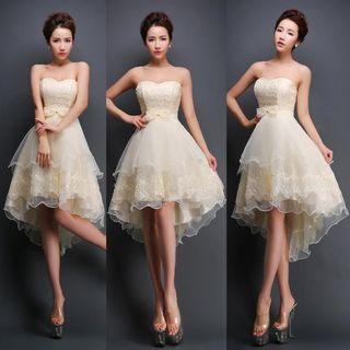 Strapless | Dress | Prom | Mini