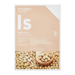 Phyto-Chemical Skin Supplement Sheet Mask (Isoflavone) 1pc