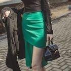 Asymmetric Chiffon Skirt 1596