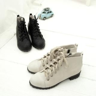 Picture of Cookie 7 Lace-Up Boots 1022448050 (Boots, Cookie 7 Shoes, Korea Shoes, Womens Shoes, Womens Boots)
