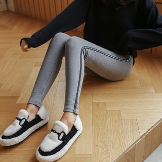 Image of Striped Detail Leggings