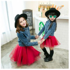 Family Matching Denim Jacket / Sleeveless Dress от YesStyle.com INT