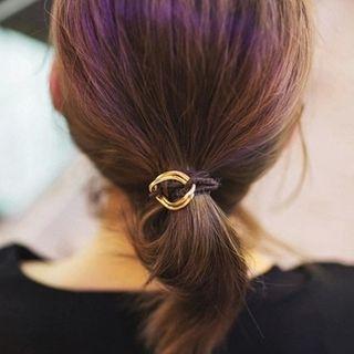 Image of Metal Detail Hair Tie