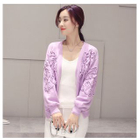 Appliqu  Cardigan 1596