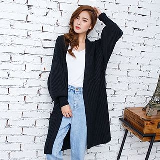 Ribbed Long Cardigan 1053030121