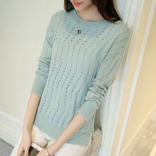 Rib Knit Pullover 1060108044