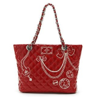 Picture of Vemo Quilted Handbag Red - One Size 1022778589 (Vemo, Handbags, Taiwan Bags, Womens Bags, Womens Handbags)