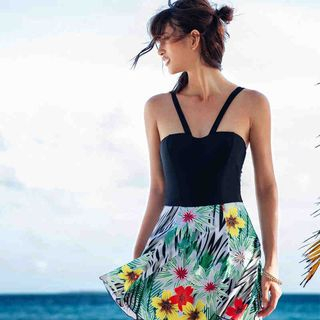 Strappy Floral Midi Dress 1051502345