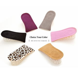 Image For Colored Stackable Silicone Insoles (One Pair)