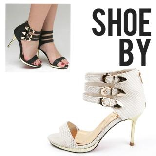Buy LCLOTHES Ankle Belted Stilettos 1022959926