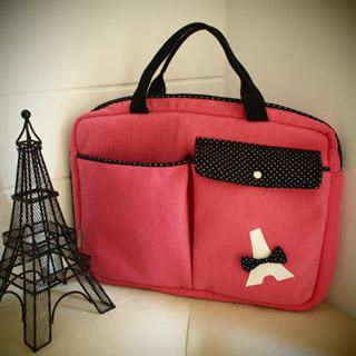 Buy hair.mo Tour Eiffel Appliqu  Laptop Bag 1022782077