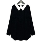 Collared Long-Sleeve Sweater 1596