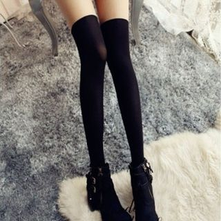 Contrast Color Stockings 1055759304