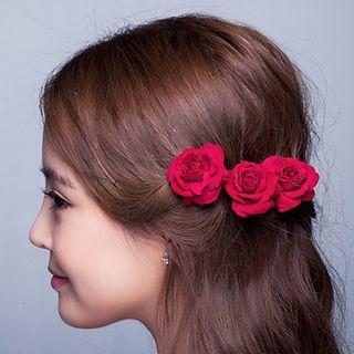 Image of Bridal Flower Hair Pin