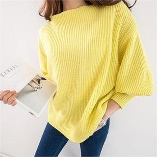 Drop-Shoulder Knit Top 1057724989