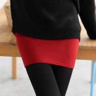 Knit Pencil Skirt 1596