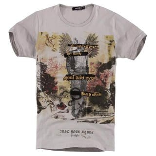 Buy Justyle Short-Sleeve Printed Tee 1022740585