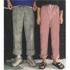 Corduroy Wide Leg Pants 1596