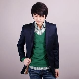 Picture of Belivus 2 Button Blazer 1022456495 (Belivus, Mens Jackets, Korea)