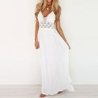 Halter Open Back Maxi Dress 1596