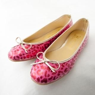 Buy Cookie 7 Leopard-Print Beribboned Flats 1022422708