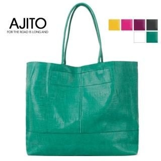 Buy AJITO Faux-Leather Tote 1022897784