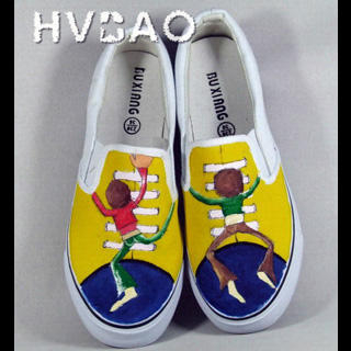 Buy HVBAO Brothers Slip-Ons 1019927882