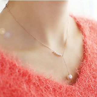 Faux Pearl Necklace 1052991405
