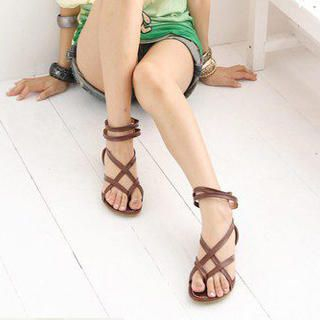 Buy KAWO Strappy Flat Sandals 1022894872