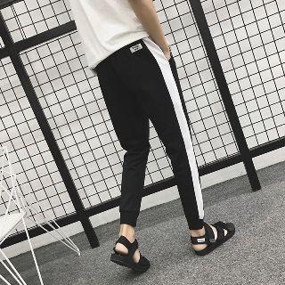 Contrast Color Sweatpants 1060081810
