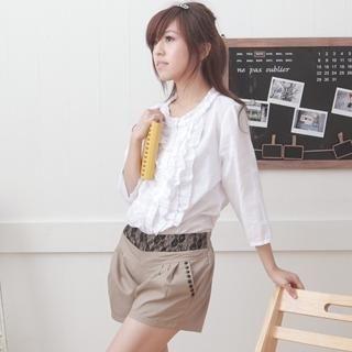 Buy Choya Lace Studded Shorts 1022703993
