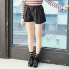 Pleated Shorts 1596