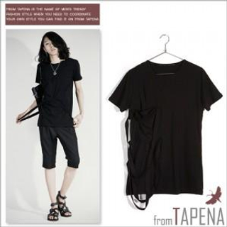 Buy TAPENA String Detailed Tee Shirt 1022872418