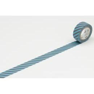 Stripe | Tape | Mask | Grey | Blue